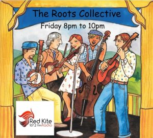 Roots logo bluegrass 8-10pm Red Kite
